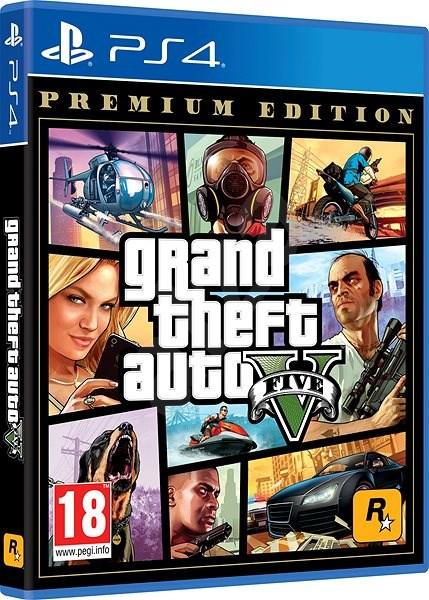 Grand Theft Auto V Premium Edition - PS4 - Hra pro konzoli