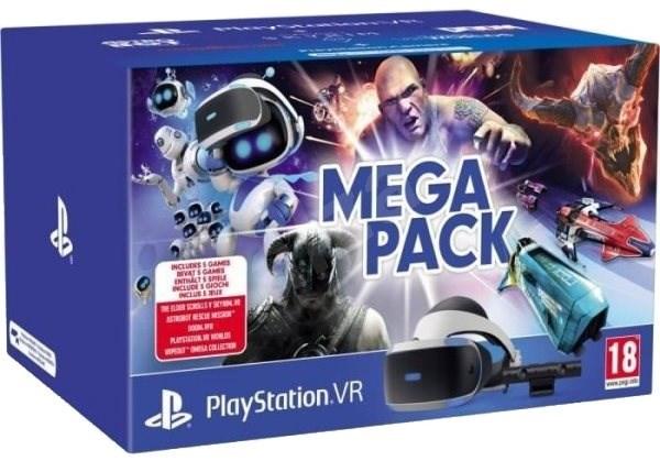 dceea383b PlayStation VR Mega Pack pro PS4 (PS VR + Kamera + 5 her) - Brýle ...