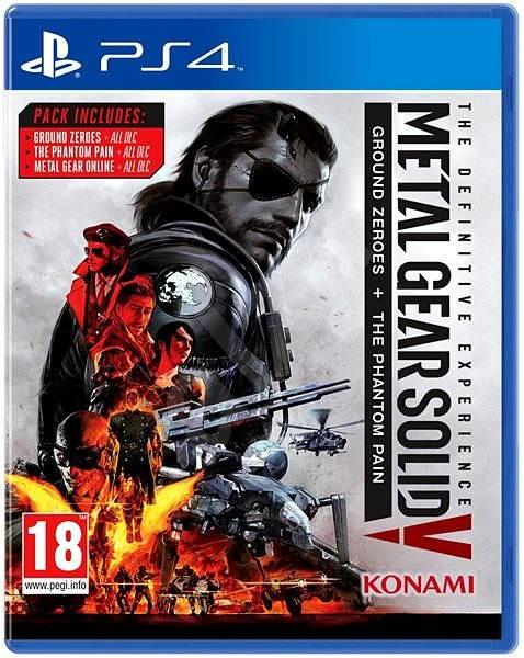 Metal Gear Solid 5: The Phantom Pain Definitive Experience - PS4 - Hra pro konzoli