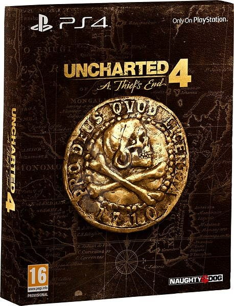 7eb5ee563 Uncharted 4: A Thief's End - Special Edition CZ - PS4 - Hra pro konzoli