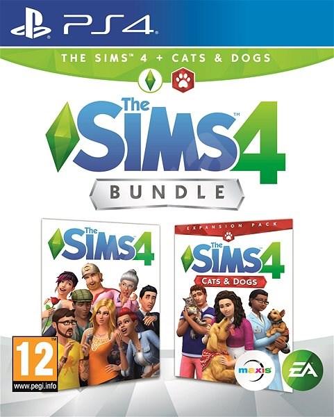 The Sims 4: Psi a Kočky bundle (Plná hra + rozšíření) - PS4 - Hra pro konzoli