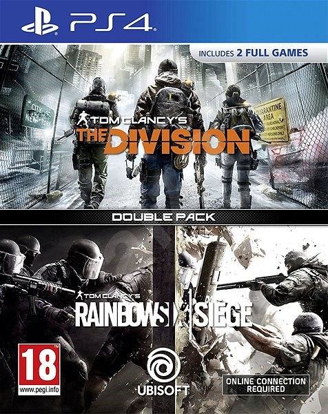 Rainbow Six Siege + The Division DuoPack - PS4 - Hra pro konzoli