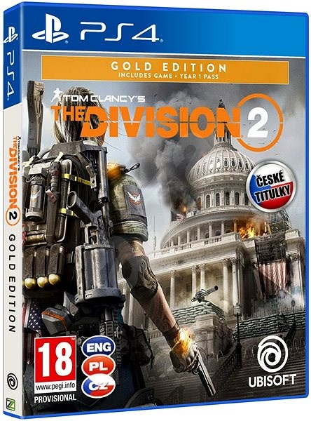Tom Clancys The Division 2 Gold Edition - PS4 - Hra pro konzoli