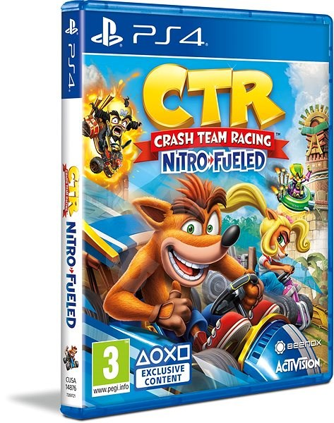 Crash Team Racing Nitro-Fueled  - PS4 - Hra na konzoli