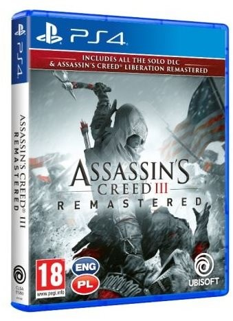Assassins Creed 3 + Liberation Remaster - PS4 - Hra na konzoli