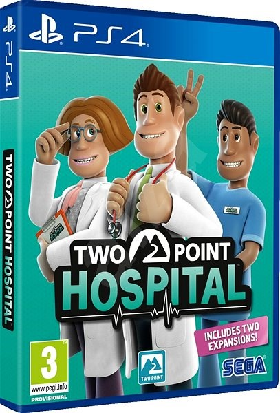 Two Point Hospital - PS4 - Hra pro konzoli