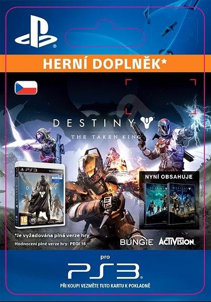 Destiny: The Taken King - PS3 CZ Digital - Herní doplněk