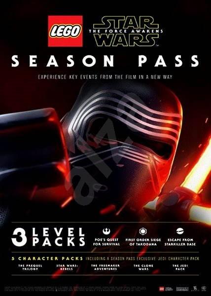 LEGO Star Wars: The Force Awakens Season Pass - PS3 CZ Digital - Herní doplněk