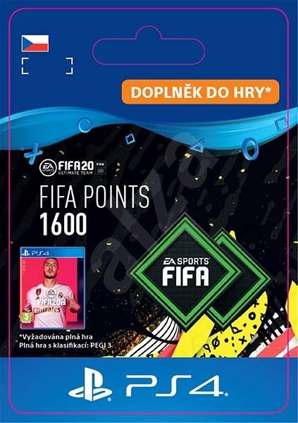 FIFA 20 ULTIMATE TEAM™ 1600 POINTS - PS4 CZ Digital - Herní doplněk