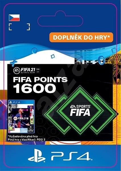 FIFA 21 ULTIMATE TEAM 1600 POINTS - PS4 CZ Digital - Herní doplněk