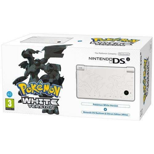 Nintendo DS -i White Pokémon Edition - Herní konzole