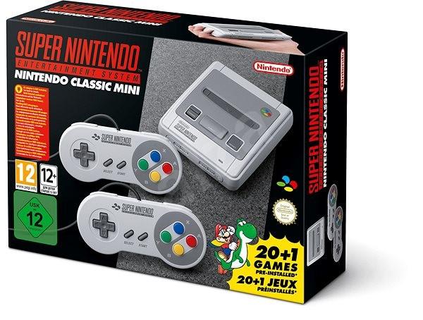 Nintendo Classic Mini - Super Nintendo Entertainment System ( SNES ) - Herní konzole