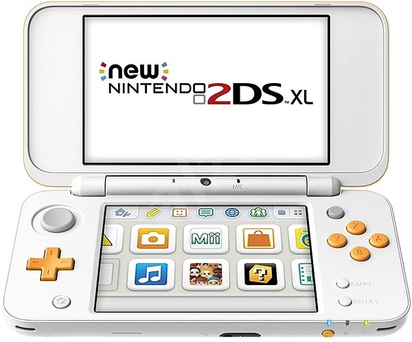 316432f31 Nintendo NEW 2DS XL White & Orange - Herní konzole | Alza.cz