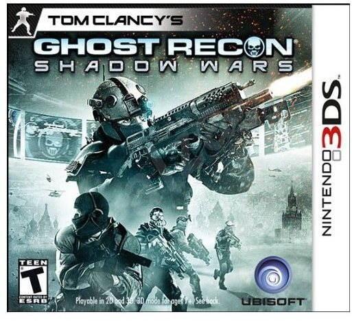 Nintendo 3DS - Tom Clancy's Ghost Recon Shadow Wars 3D - Hra na konzoli