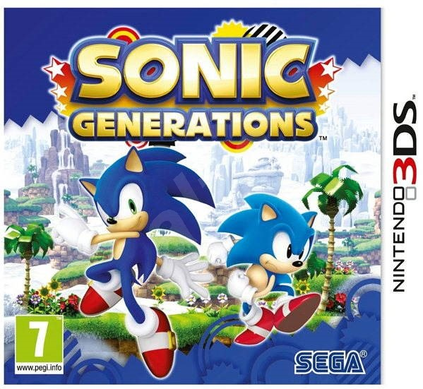 Nintendo 3DS - Sonic Generations - Hra pro konzoli
