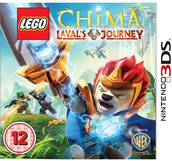 LEGO Legends Of Chima: Lavals Journey - Nintendo 3DS - Hra pro konzoli