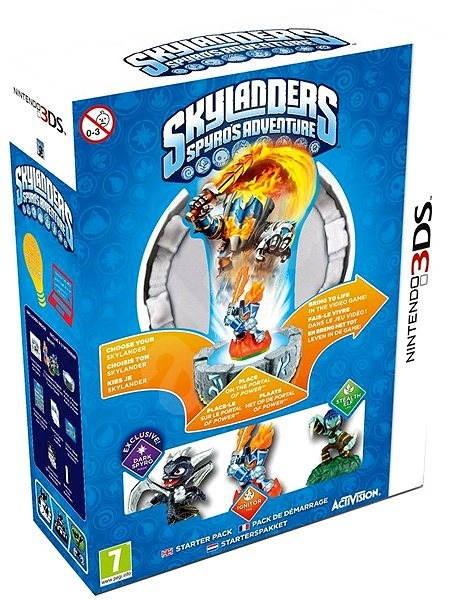 Nintendo 3DS - Skylanders: Spyro Adventure (Starter Pack) - Hra na konzoli