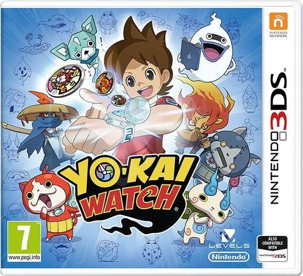 YO-KAI WATCH - Nintendo 3DS - Hra na konzoli