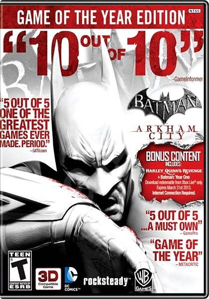 Batman: Arkham City Game of the Year Edition - Hra pro PC