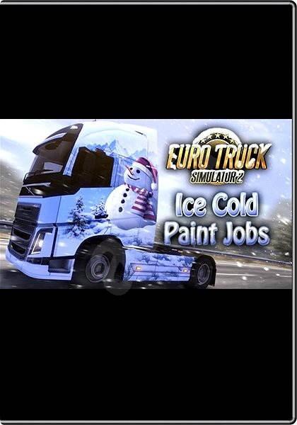 Euro Truck Simulator 2 - Ice Cold Paint Jobs Pack - Herní doplněk