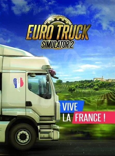 Euro Truck Simulator 2 – Vive la France! (PC)  DIGITAL - Herní doplněk