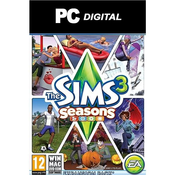 The Sims 3 Roční období (PC) DIGITAL - Hra pro PC
