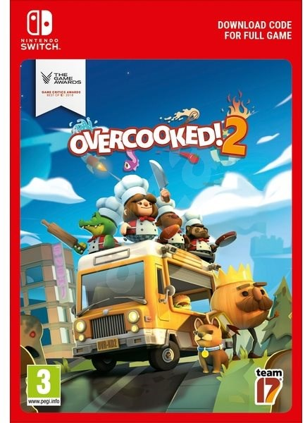 Overcooked 2 - Nintendo Switch Digital - Hra pro konzoli