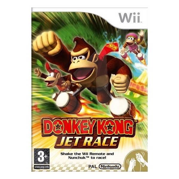 Nintendo Wii - Donkey Kong Jet Race - Hra pro konzoli