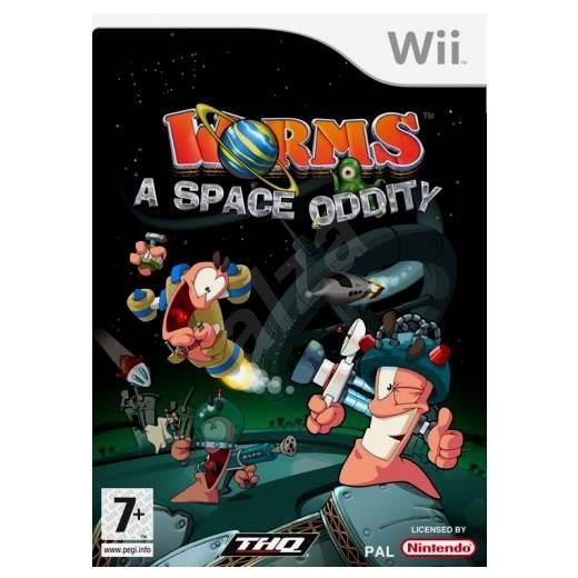 Nintendo Wii - Worms A Space Oddity - Hra pro konzoli
