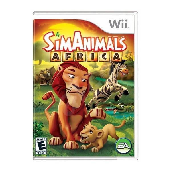 Nintendo Wii - Sim Animals Africa - Hra pro konzoli