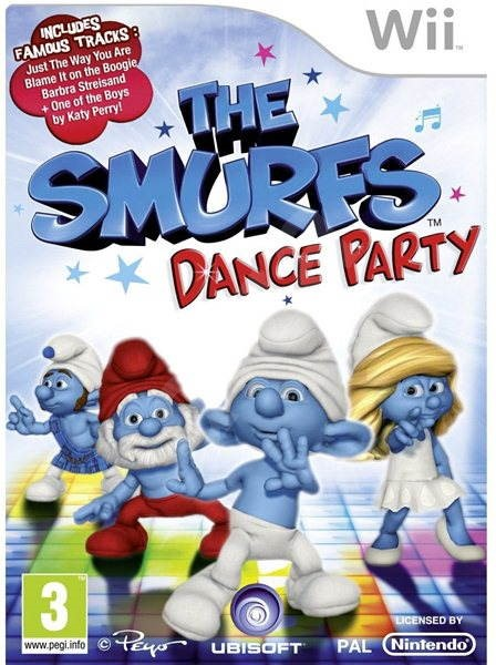 Nintendo Wii - The Smurfs Dance Party - Hra pro konzoli