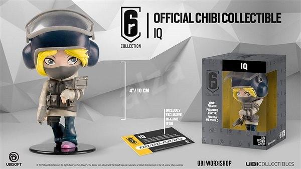 Rainbow Six Siege Chibi Figurine - IQ - Figurka