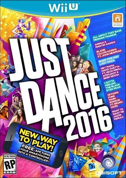 Nintendo Wii U -Just Dance 2016 - Hra na konzoli