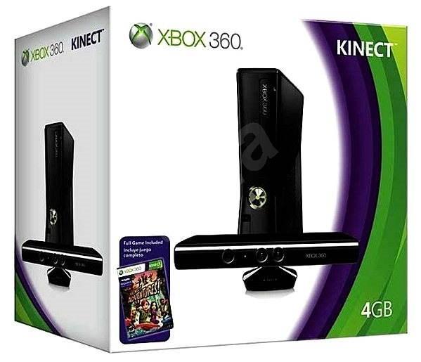 Microsoft Xbox 360 4GB Kinect Bundle (Slim Edition) - Herní konzole