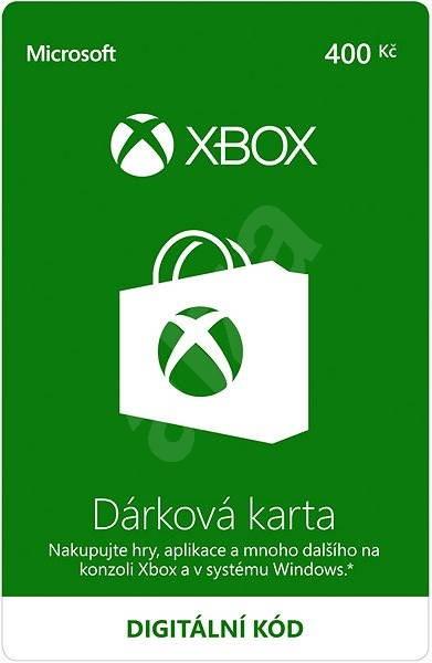 Xbox Live Dárková karta v hodnotě 400Kč - Dobíjecí karta
