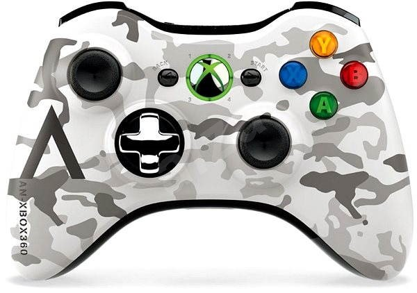 Microsoft XBOX 360 Wireless Controller Camouflage - Gamepad