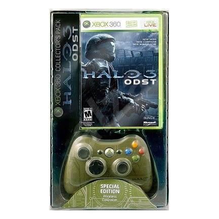 Microsoft Xbox 360 Halo 3: ODST Shock Bundle - Gamepad
