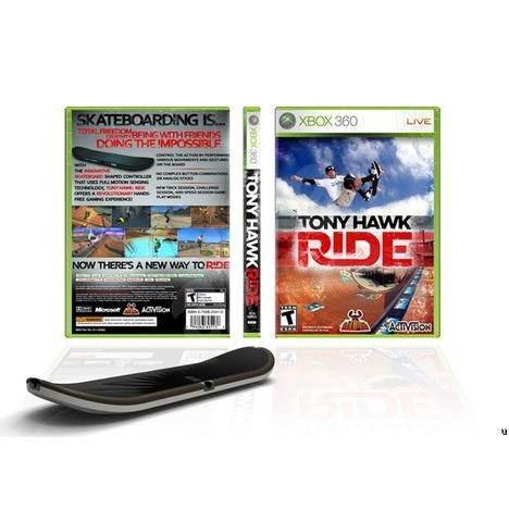 Xbox 360 - Tony Hawk Ride + Board - Hra pro konzoli
