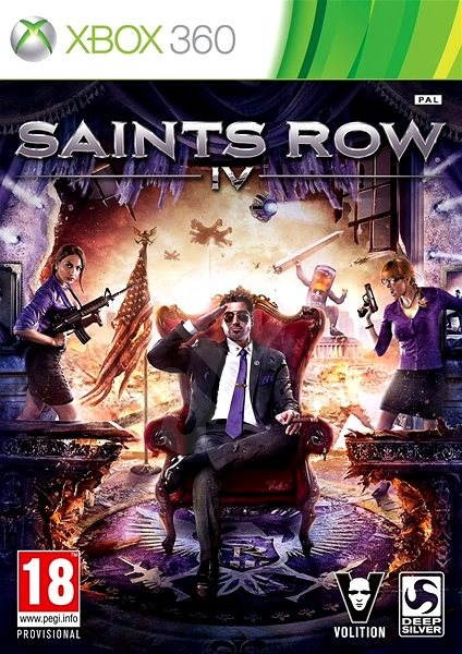 Xbox 360 - Saint's Row IV - Hra na konzoli