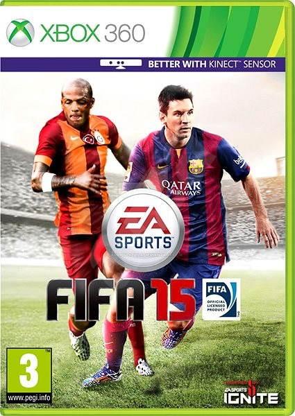 FIFA 15 CZ -  Xbox 360 - Hra na konzoli