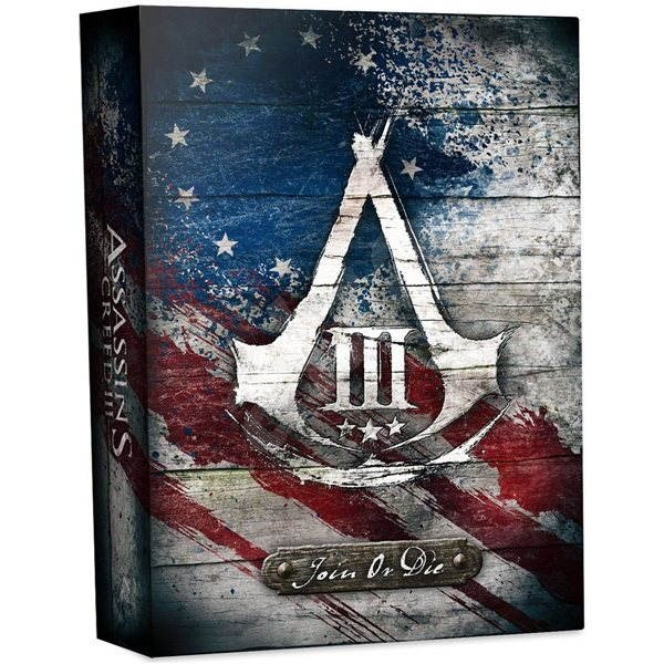 Xbox 360 - Assassin's Creed III (Join Or Die Edition) CZ - Hra pro konzoli