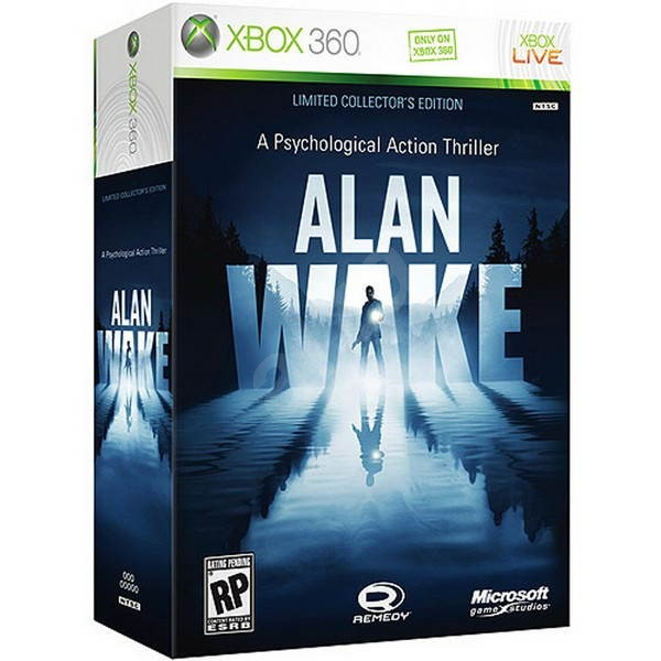 Xbox 360 - Alan Wake (Limited Edition) - Hra pro konzoli