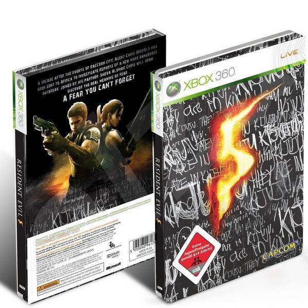 Xbox 360 - Resident Evil 5 (Limited Edition) - Hra na konzoli