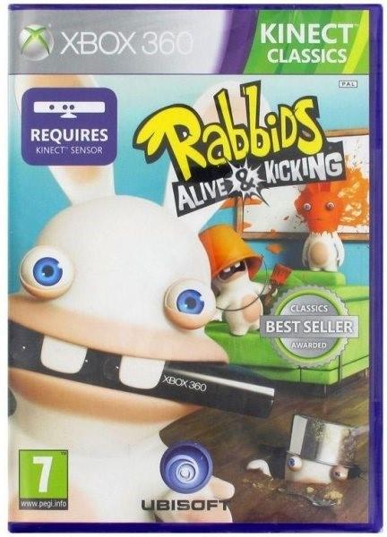 Raving Rabbids Alive & Kicking (Kinect ready) -  Xbox 360 - Hra pro konzoli