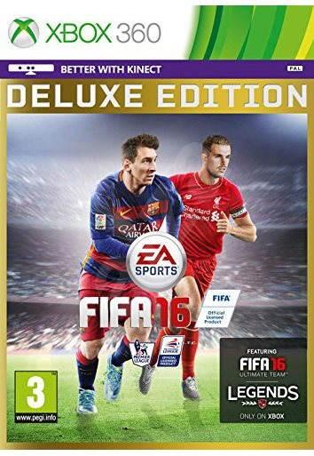 Xbox 360 - FIFA 16 Deluxe Edition - Hra na konzoli