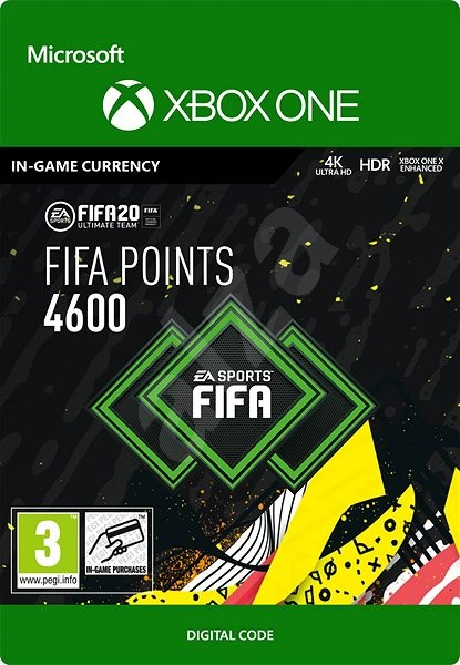 FIFA 20 ULTIMATE TEAM™ 4600 POINTS - Xbox One Digital - Herní doplněk