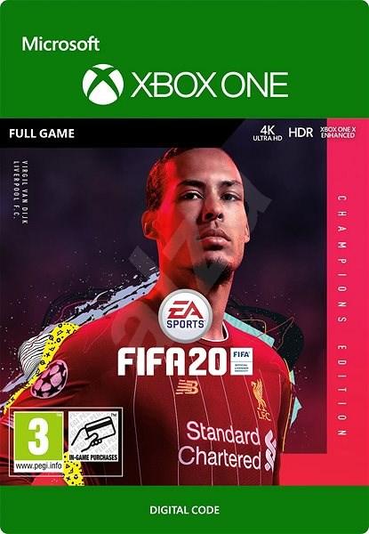 FIFA 20: Champions Edition (Předobjednávka) - Xbox One Digital - Hra pro konzoli