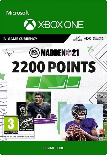 Madden NFL 21: 2200 Madden Points - Xbox Digital - Herní doplněk