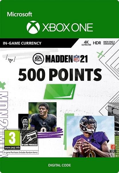 Madden NFL 21: 500 Madden Points - Xbox Digital - Herní doplněk