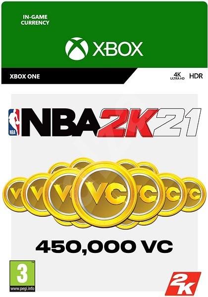 NBA 2K21: 450,000 VC - Xbox Digital - Herní doplněk